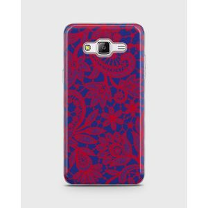 Samsung Galaxy Grand Prime Plus Soft Cover In Embriodery Design -1Cover77