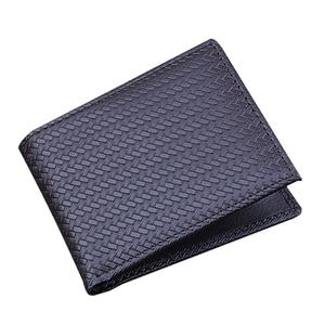 Fashion Men Card Holder Purses PU Leather Wallet Bifold Clutch Soild Bags
