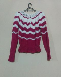 Crochet Bagi Sweater Shirt