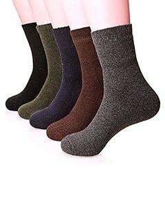 Long Warm Winter Socks By Sik Collection (Pack Of 5)