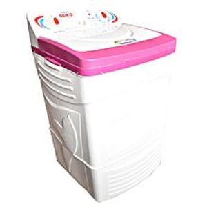 Seiko AppliancesSK 5200-Semi automatic washing machine-pure copper-white&pink color