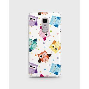 Xiaomi Redmi Note 4 Soft Cover in Confetti Owls -1cover33