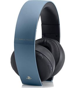 Sony PlayStation Uncharted 4 Limited Edition Gold Wireless Headset - Gray Blue