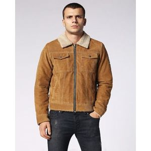 Brown Suede Leather Jacket High Quality