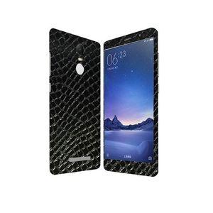 Xiaomi Redmi Note 3 Black Snake Leather Texture Skin