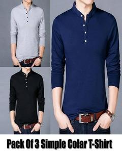 Pack of 3 - Shirts For Mens