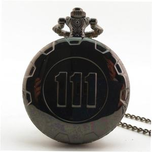 UR Unisex Vintage Antique Round Dial Quartz Pocket Watch Necklace Pendant Clock