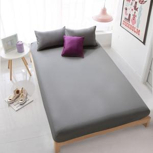Jersey Fitted Bed Sheet - Gray