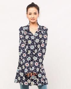 Royal Chinese Coat For Women - Ara-Coatw-Chinaprntflwrro