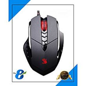 A4TECH Bloody V 7m X'Glide Multi Core Gaming Mouse - Black