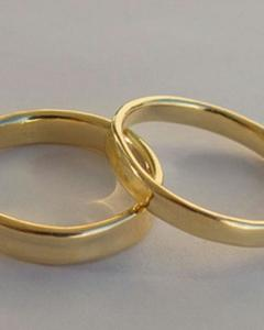 Gold Plated Titanium Golden Ring For Men
