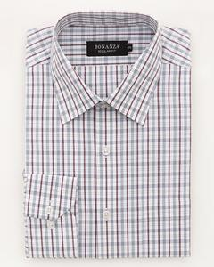 L-Gray Pc Men's Smart Shirt