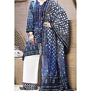 AlmirahBlue LAWN Stitched Suit