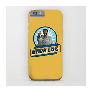 Abba Log Art Printed Mobile Cover (Samsung C7)