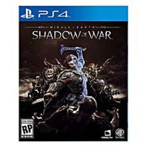 Warner BrosMiddle-Earth: Shadow Of War - PlayStation 4