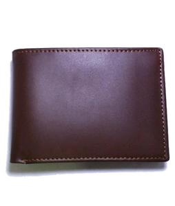 Leather Wallet for men boys 100% genuine leather men wallet original leather wallet with money back guarantee (Dark Brown)