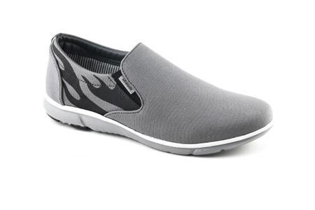 Urban Sole Grey Canvas Shoes  Winter Collection - CV-8104
