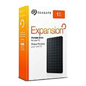 Seagate STEA1000400 - Expansion Portable USB 3.0 External Hard Drive - 1TB - Black