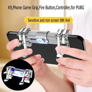 PUBG / Pub g /Fortnite Mobile Gaming Double Metal Trigger L1 R1 Button Gamepad Game Shooter Controller - K9