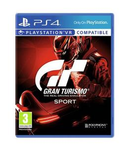 PLAYSTATION 4 DVD Gran Turismo Sport PS4 GAME