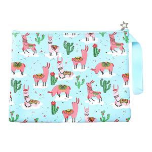 MissFortune Fashion Outdoor Alpaca Print Handbag Shoulder Bag Tote Ladies Purse Travel Bag