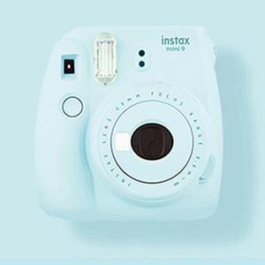 Fujifilm Instax Mini 9 Instant Camera With Flashing LED Selfie Mirror