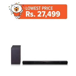 LG SH4 - 2.1 CH Bluetooth® Sound Bar with Wireless Subwoofer - Black