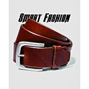Smart Fashion Brown Leather Pant Belts For Men's Lb00b525