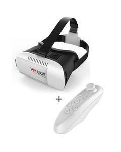 2nd Generation VR Box with Joystick - White