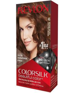 Color Silk 3D Technology USA For Men and Women No 46 Chestnut Brown