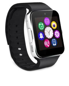 Black Plastic Bluetooth Touch Smart Watch For Men