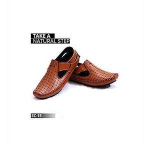 Mustard Colored Sandal Shoes For Men