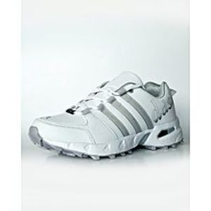 BEST OFFERS White and Grey Gripper Shoes for Cricket