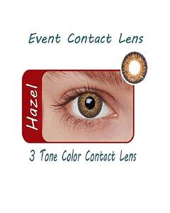 Event 3 Tone Contact Lenses - Hazel