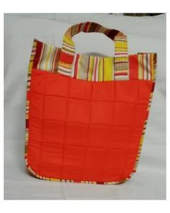 Ladies Cotton Handbags - Orange