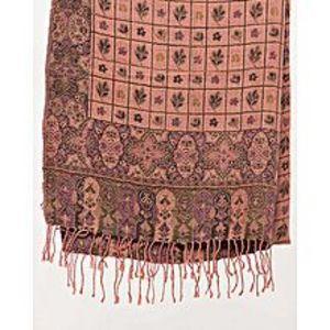 Misbah's StyleTea Pink & Green Pashmina Shawl