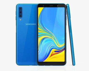 """Samsung Galaxy A7 (2018) - 6.0"""" FHD Display - 4GB RAM - 128GB ROM WITH POWER BANK"""