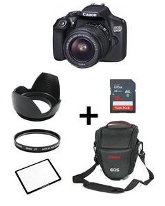 Pack Of 6-EOS 1300D With 18-55mm,16GB,V Bag,Screen Glass,Lens Hood,Lens Filter