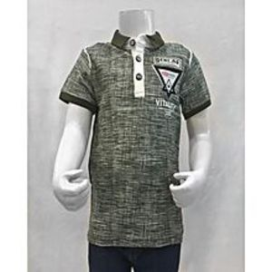 Tiny TodsGreen Premium Quality Imported Polo Shirt For Boys