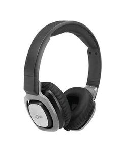 Go Pro-Sound Comfort Fit Stereo Headphones - Black & Silver