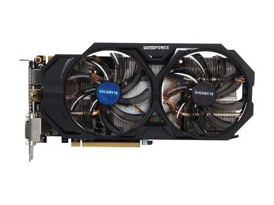 GIGABYTE Video Card Original GTX 760 2GB 256Bit GDDR5 Graphics Cards for nVIDIA Geforce VGA Cards GTX760 Dvi Hdmi game Used