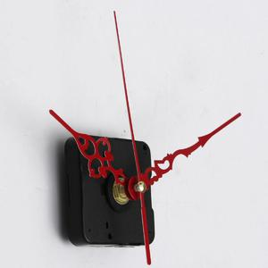 The Old Tree Red Hands DIY Quartz Clock Spindle Movement Mechanism Repair Parts Kit Silence