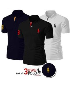 Pack Of 3 Bwb Polo T-Shirt