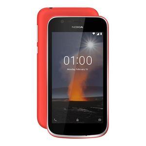 "Nokia 1 - 4.5"" inch Screen - 1GB Ram - 8GB Storage - 5MP Camera - Dual Sim - (Warm Red)"