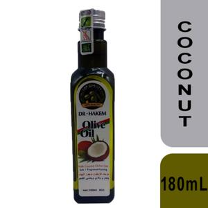 Dr.Hakem Hair Oil with Olive and coconut 180mL