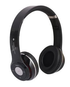 shopping mela Wireless Bass Bluetooth Headphone - Black