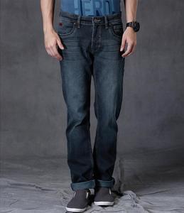 Dark Blue Denim Jeans For Men. WOT-146