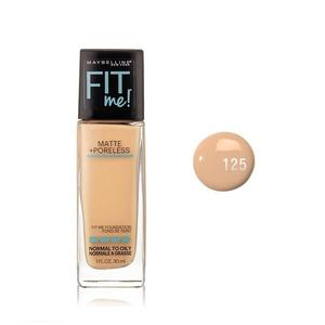 Fit Me Face Foundation - 30 ml. - 125 Maybelline New York