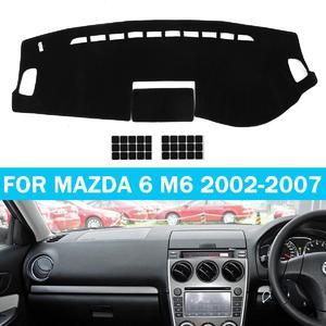 Car Dashmat Dashboard Carpet Sun Cover Dash Mat Pad For Mazda 6 M6 2002-2007