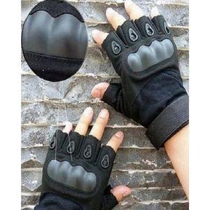Half Palm Oakley Tactical Gloves - Black